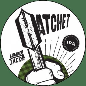 hatchet tap badge
