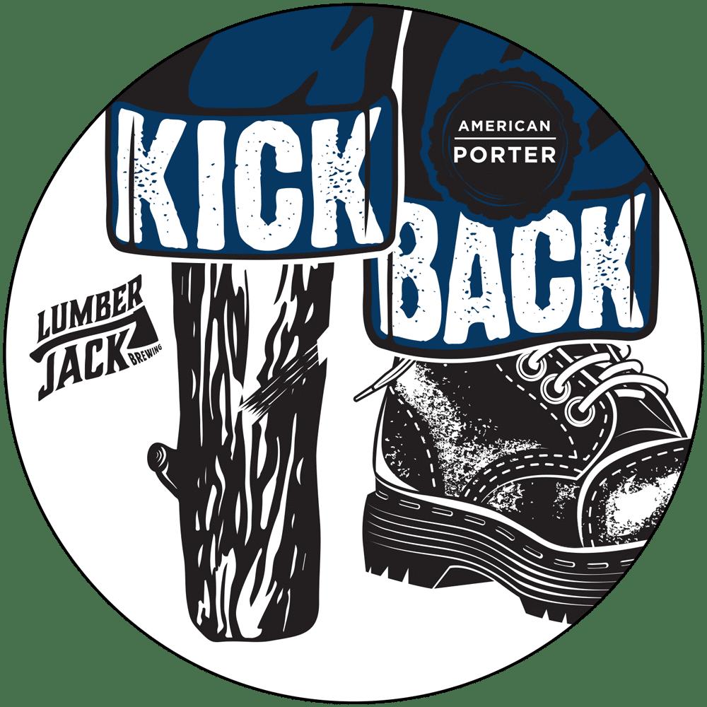 kick back tap badge